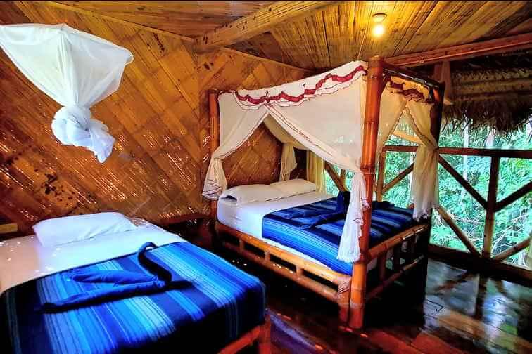 Standard Double Room Bamboo Lodge Cuyabneo