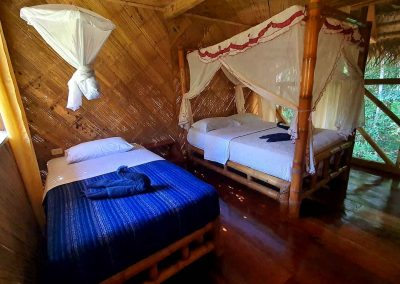 Standard Double Room Bamboo Lodge Cuyabneo
