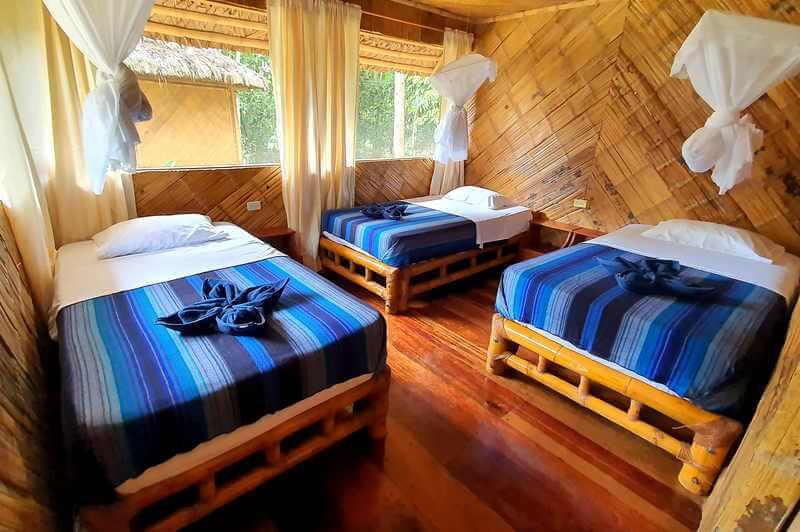 Standard Triple Room Bamboo Lodge Ecuador