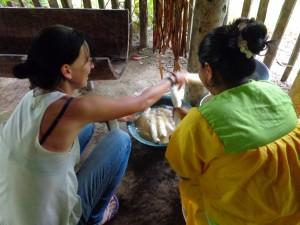 Siona Community Visit